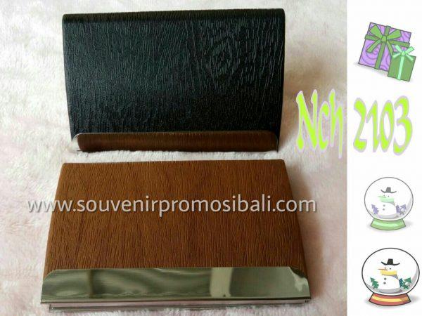 Name Card Holder NCH 2103 Souvenir Promosi Bali