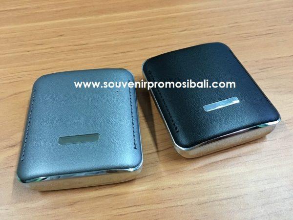 Powerbank Plastik Compact SouvenIR Promosi Bali