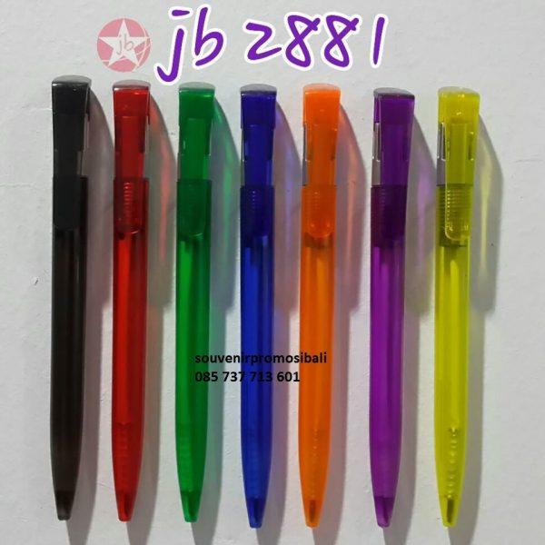 Pulpen JB 2881 Souvenir Promosi Bali