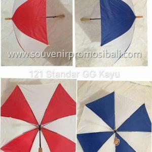 Payung 121 Standar GG Kayu Souvenir Promosi Bali