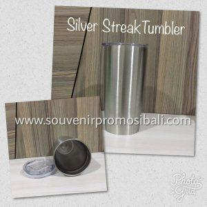 Silver Streak Tumbler Souvenir Promosi Bali