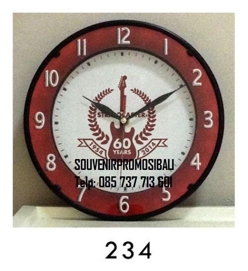 Jam Dinding 234 Souvenir Promosi Bali