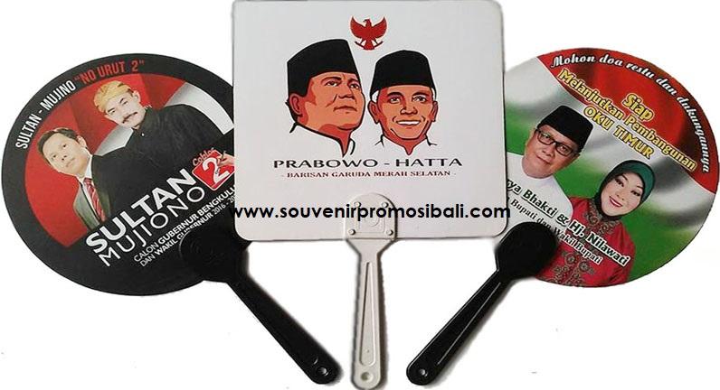 Kipas Whisnu Souvenir Promosi Bali