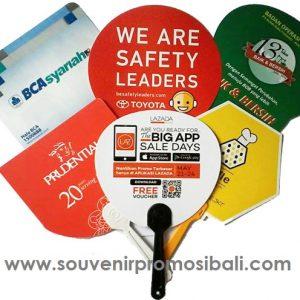 Kipas Plastik PVC Whisnu 3 Souvenir Promosi Bali