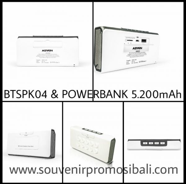Bluetooth Speaker Souvenir Promosi Bali BTSPK04